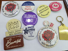 Vintage Pins Buttons Metal - 5431