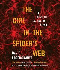 Stieg Larsson - Girl In The Spiders Web Unabr (2015) Compact Disc! FREE SHIPPING