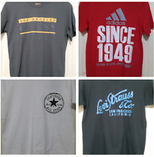 HAND PICKED BRANDED OVERRUNS T- SHIRTS FOR MEN - SMALL
