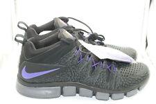 Nike free Trainer 7.0 PE Adrian Peterson Vikings sz 11 W Receipt Black Purple