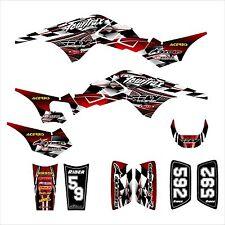 TRX 250R Graphics 250 R custom decal sticker kit #2500 Red