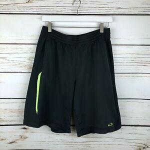 C9 Champion Shorts Drawstring Polyester Charcoal Gray Size Large