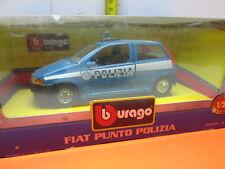 BURAGO 1.24  FIAT PUNTO POLIZIA