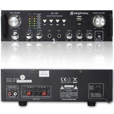 Skytronic 103.208 Home Hifi USB Stereo Amplifier 100W