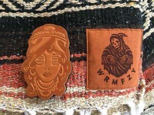 WRMFZY Gypsy Patch Brown Leather