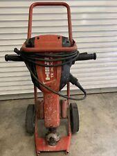 Hilti Te1000 Avr Demolition Breaker Hammer With Cart