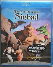 Blu Ray THE 7TH VOYAGE OF SINBAD. Ray Harryhausen classic. New sealed.