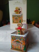 Hallmark Keepsake Ornament 2008 Pop! Goes the Gingerbread Man Jack-In-The-Box