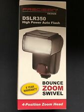 Precision Design DSLR300 High Power Auto Flash - Universal (standard hot shoe)