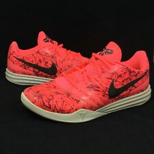 New Nike Kobe KB Mentality Basketball Shoes Size 13 Hot Lava Red Pink 704942-800
