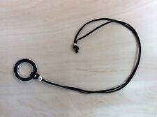 BRILLENKETTE Brillenband Kette mit schwarzem Ring zum einhängen