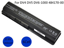 Spare Battery For 484170-001 HP Pavilion DV4 DV5 DV6 Laptop 6 Cells 5200mAh