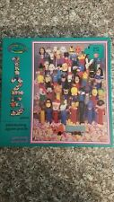 """Vintage 1991 PEZ Jigsaw Puzzle by Ceaco """"Pez-antly Surprised"""" Retired"""