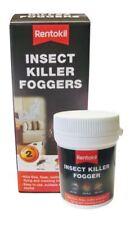 2 x Rentokil Bed Bug Bomb Smoke Poison Foggers Bedbug Fleas Moths Killer
