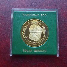 Doomsday book commemorative bronze medal