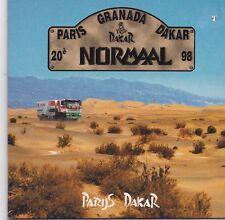 Normaal-Parijs Dakar cd single