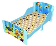 Toddler Wooden Bed Frame Under The Sea Single Bed Childrens Bedroom Furniture UK