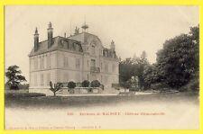 cpa Castle of France Environs de MALNOUE CHÂTEAU d'EMERAINVILLE (Seine et Marne)