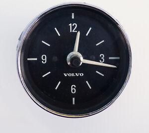 "Genuine Volvo Original VDO Kienzle 0007 12V Dashboard Clock, 3 ¼"" Diameter, 2257"