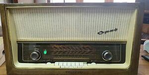 Telefunken Opus 8 Röhrenradio , überarbeitet