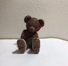 "New Miss Martha Originals All God's Children ""Peek-a-boo� Brown Bear Figurine"