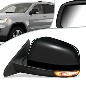 Fit 14-21 Jeep Grand Cherokee Powered+ Heated Side Door Mirror Left CH1320413