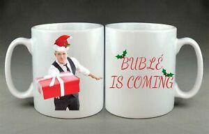 Michael Bublé Christmas Meme Funny Mug Gift Birthday Present Aunt Mum Buble