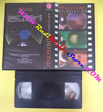 VHS PINK FLOYD celebration SWINDLE RECORDS SWN SP 003 Gilmour(VM10) no mc dvd lp