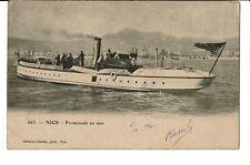 CPA-Carte postale- France - Nice - Promenade en Mer-1902 VM646