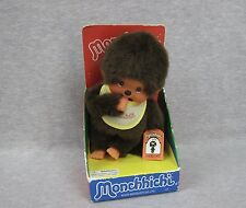 Monchhichi 20cm Baby Yellow Bib in the Package Sekiguchi EX2549