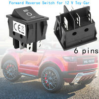 6 Pin 3 Positions T105/55 Forward Reverse Switch for 12V Toy Car Power Wheel !