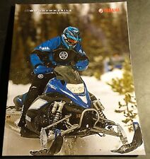 2009 YAMAHA SNOWMOBILE ACCESSORIES & APPAREL SALES CATALOG BROCHURE (226)