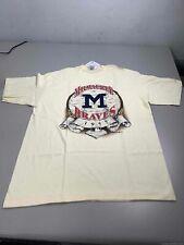 Men's 1992 Starter Milwaukee Braves Shirt Size L, Made in Usa