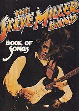 STEVE MILLER BAND Book of Songs Songbook Tablature Guitar Tab Classic Rock VTG