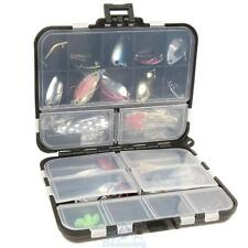37pcs Metal Hard Spoon Fishing Lure Kits Set Spinning With Box Tackle Baits