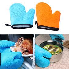 Gant anti-chaleur Silicone four manique cuisson BBQ mitaines Outil de cuisine