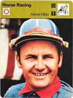 1978 Sportscaster Card Horse Racing Herve Filion #24-19 NRMINT/MINT.