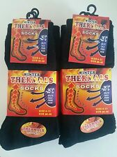 6 PAIRS MEN'S TOP QUALITY THICK WARM THERMAL HEATED SOCKS BULK BUY