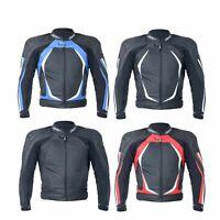 RST 1845 Blade II Bike/Motorcycle Full Grain Cowhide Leather Riding Jacket
