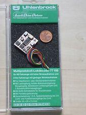 Uhlenbrock 77100 Lokdecoder DCC/MOT H0 hohe Motorlast + Spur 0,1,G m. SUSI  NEU