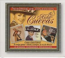 Aida Cuevas CD NEW Tesoros De Coleccion BOX SET Con 36 Canciones !