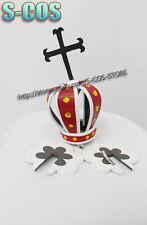 One Piece Perona Cosplay an crown headband properties