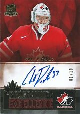 (HCW) 2012-13 The Cup Programme of Excellence CHET PICKARD 1/10 Auto Signature