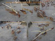 1x alter antiker Ochsen-Pflug Pferde-Pflug old vintage plough plow Garten-Deko