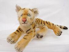 MES-51372Steiff Tiger L:ca.39cm mit Holzwollstopfung