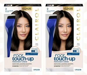 2 Nice N Easy Clairol Root Touch Up #2 Black