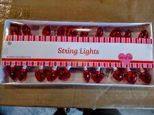 Valentines Heart  String Lights 20/ String ~ INDOOR/OUTDOOR