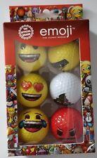 Emoji novelty Golf Balls gift for him or her