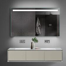 Spiegel Badspiegel Lichtspiegel mit Kalt/Warmlicht und Steckdose - 120x70cm