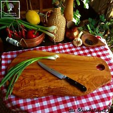 Serving Tray Plate Chopping Board Cutting Olive Wood 19 11/16in